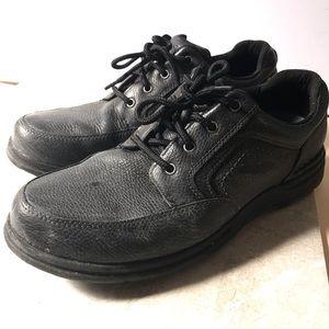 ROCKPORT Black Leather Non Slip Shoes